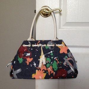 Dooney and Bourke graffiti purse